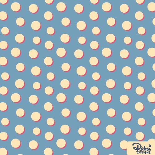 fairy lights circle dot geometric pattern