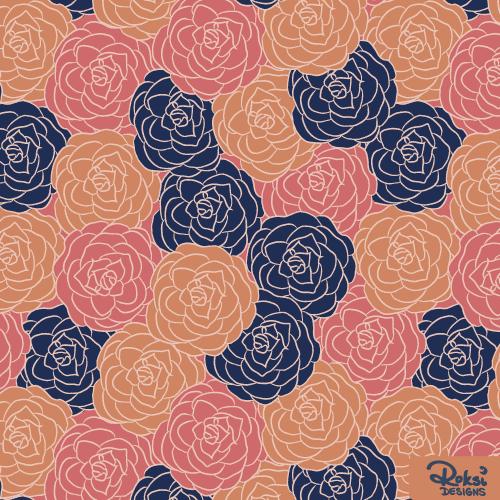 flower dreams floral pattern