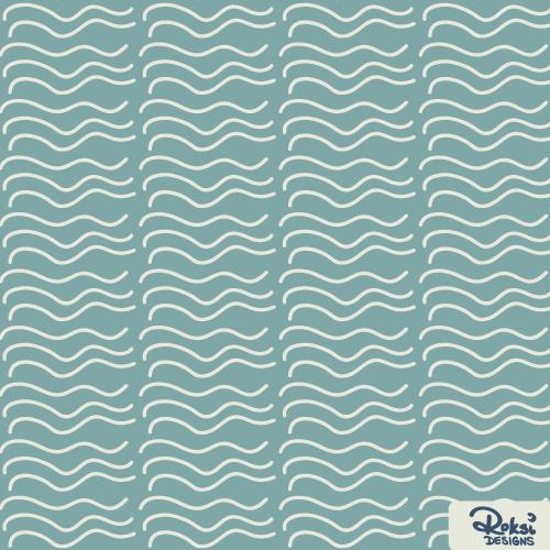 read more books geometric waves pattern